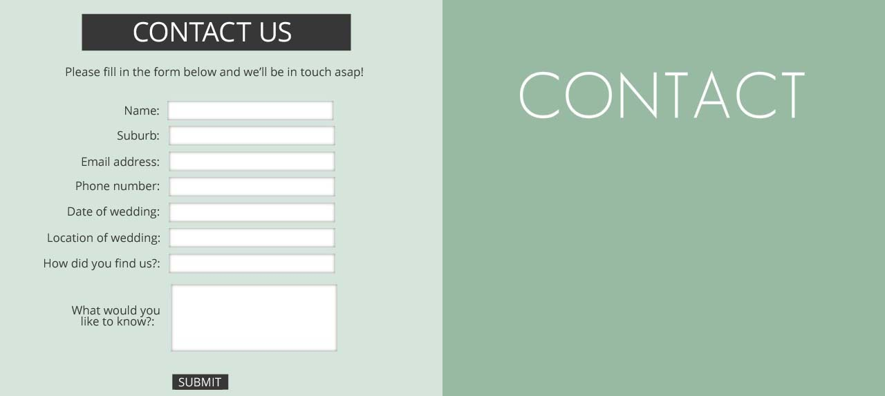 Creating The Perfect Contact Form
