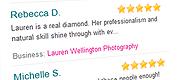 Easy Weddings Supplier Reviews Widget