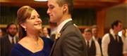 Groom's epic wedding dance with mum