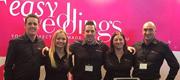 Team Easy Weddings at the Luxury Bridal Expo